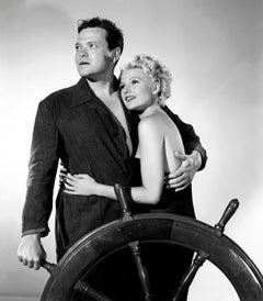 "Orson Welles and Rita Hayworth ""Lady from Shanghai"" Globe Photos Fine Art Print"
