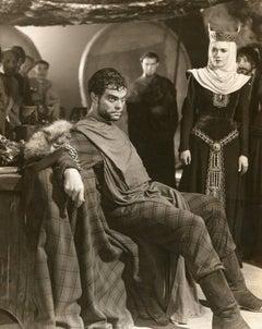 "Orson Welles from ""Macbeth"" - Original Vintage Photograph - 1948"
