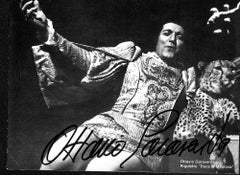 Ottavio Garaventa Autographed Photocard - 1970