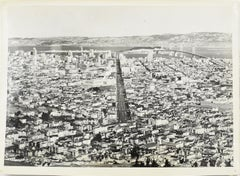 Panoramic View of San Francisco 1939  -  Silver Gelatin Black & White Photograph