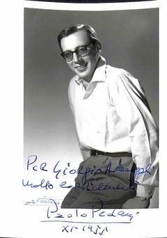 Paolo Pedani Autographed Photograph - 1955
