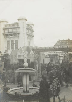 Paris, Decorative Art Exhibition 1925  - Mallet Stevens Concrete Tree Photograph