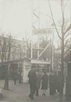 Paris, Decorative Art Exhibition 1925, The Russian Pavilion  - B & W Photograph