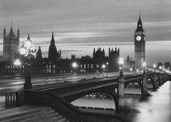 Parliament By Night (1973) - Silver Gelatin Fibre Print