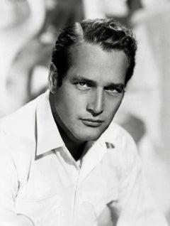 Paul Newman Classic and Handsome Portrait Globe Photos Fine Art Print