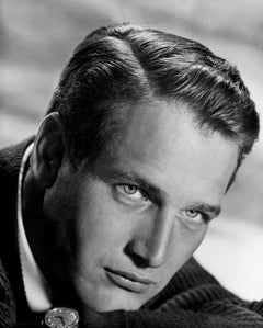 Paul Newman Handsome Star in the Studio Globe Photos Fine Art Print