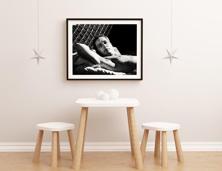 Paul Newman Reclining Fine Art Print For Sale 2