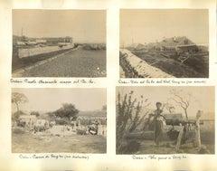 Pei-ho River Photographs - Original Albumen Print - 1890s