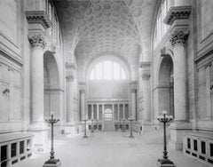 Pennsylvania Station NY (1910) Silver Gelatin Fibre Print - Oversized