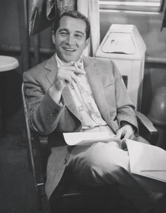 Perry Como Smiling and Smoking Fine Art Print