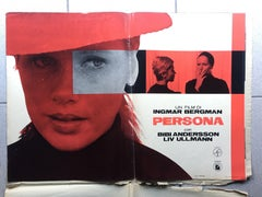 PERSONA (1966) FULL SET OF 8 PHOTOBUSTA'S IN ORIGINAL PAPER FOLDER