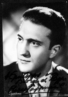 Piero Cappuccilli Autographed Photograph - 1970s