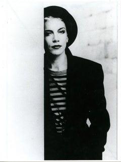 Portrait of Annie Lennox - Vintage Photographic Print - 1990s