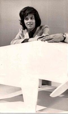 Portrait of Claudio Baglioni - Original Photos - Early 1970s