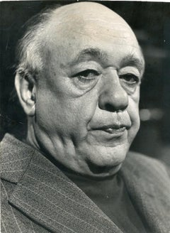 Portrait of Eugène Ionesco - Original Photo 1974
