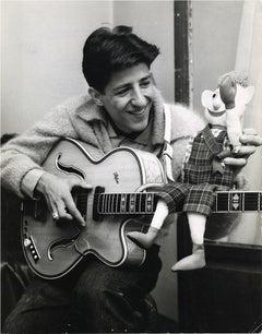 Portrait of Giorgio Gaber - Vintage Photo - 1959