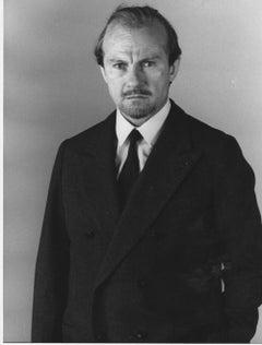 Portrait of Harvey Keitel - Vintage Photo - 1988 ca.