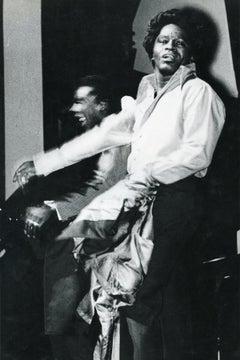 Portrait of James Brown - Vintage Photo - 1960s