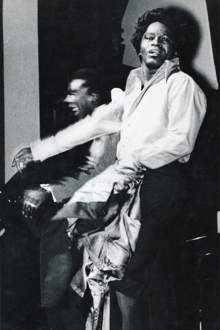 Unknown Portrait Photograph - Portrait of James Brown - Vintage Photo - 1960s