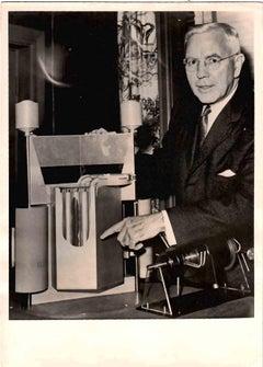 Portrait of John McCone - Vintage B/W photo - 1958