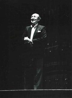 Portrait of Vladimir Horowitz - B/W Photograph - 1985