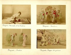 Portraits of Women and Children in Nagasaki - Albumen Print 1870/1890