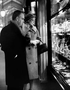 Prince Rainier and Princess Grace Go Shopping Globe Photos Fine Art Print