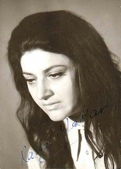 Rachel Yakar Autographed Photograph - 1960