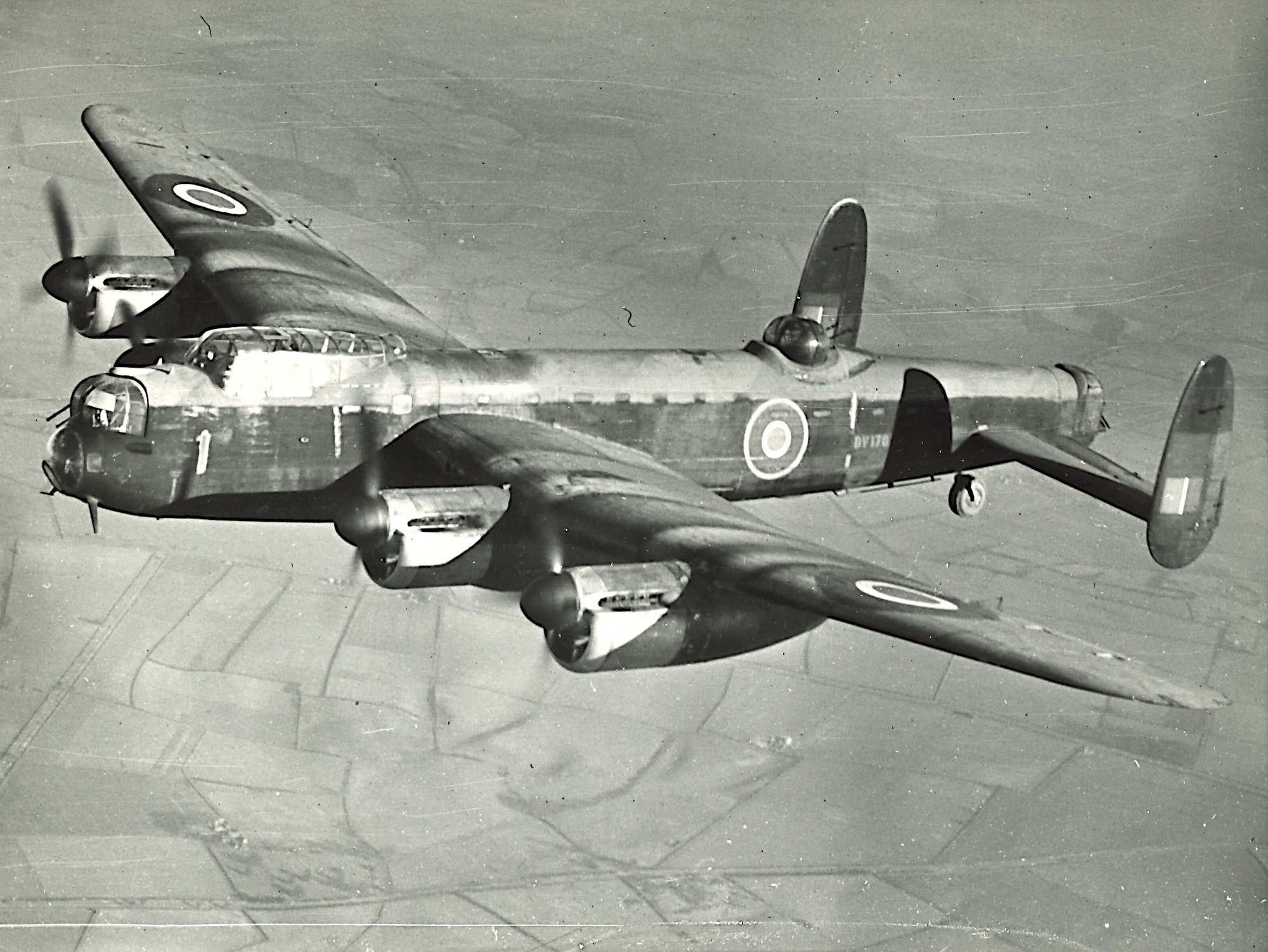 Avro Lancasters misty landing canvas prints various sizes free delivery