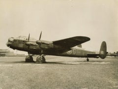"RAF Lancaster Bomber British Official Photograph WW2 ""G for George"" 460 sqn RAAF"