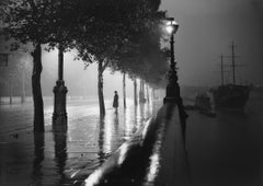 'Rainy Embankment' London (Limited Edition) Oversize