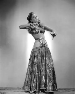 Ramsay Ames Bellydancing Movie Star News Fine Art Print