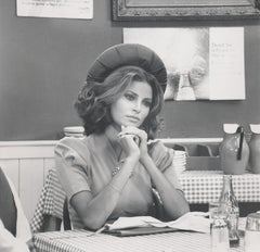 Raquel Welch Deep in Thought Fine Art Print