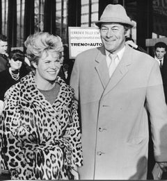Rex Harrison and his Wife Rachel Roberts - Vintage Photograph - 1960s