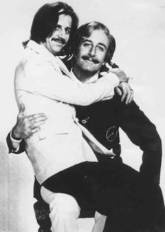 Ringo Starr and Peter Sellers - Vintage Photo - 1969