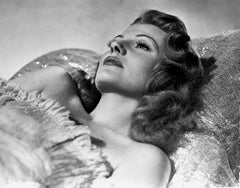 Rita Hayworth Reclining in the Studio Movie Star News Fine Art Print