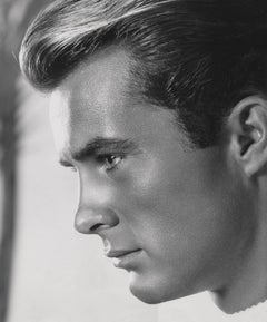 Robert Conrad Stunning Profile Closeup Globe Photos Fine Art Print