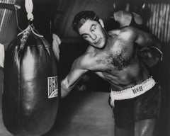 Rocky Marciano: Heavyweight Champion Globe Photos Fine Art Print