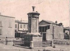 Roman Temple - Vintage Photograph - 1950s