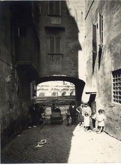 Rome, Disappeared Saponari's Arch  - 1920s