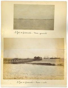 S. Josè di Guatemala - Original Vintage Photos - 1880s