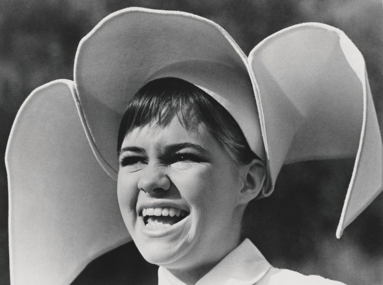 Unknown Black and White Photograph - Sally Field: The Flying Nun Fine Art Print