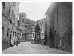 San Giorgio in Velabro - Disappeared Rome - Original b/w Photograph - 1929