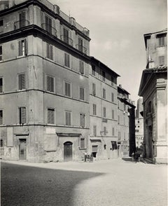 San Lorenzo ai Monti - Disappeared Rome - Vintage Photo 1920s
