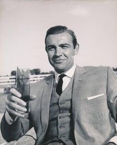 "Sean Connery as James Bond in ""Goldfinger"" Fine Art Print"