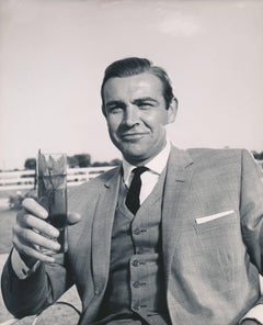"Sean Connery as James Bond in ""Goldfinger"" Globe Photos Fine Art Print"