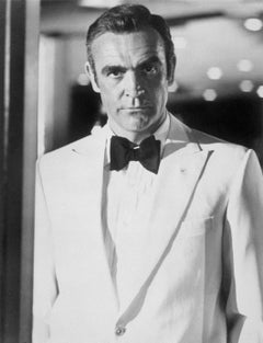 Sean Connery Diamonds Are Forever Globe Photos Fine Art Print