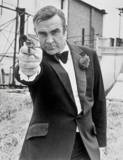 Sean Connery Diamonds Are Forever II Globe Photos Fine Art Print