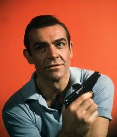 "Sean Connery ""Dr. No"" in Color Globe Photos Fine Art Print"