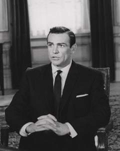 Sean Connery Seated in Suit Fine Art Print